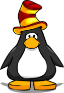 Red and Yellow Stripey Hat PC