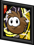 Brown Puffle Picture sprite 003