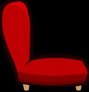 Red Plush Chair sprite 007