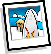 Surfboards Background Icon