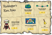 Rockhopper's Rare Items Dec 19