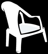 White Plastic Chair sprite 004
