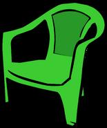 Green Plastic Chair sprite 002
