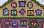 Holiday Calendar 2019 Closeup 2