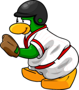 Red Baseball Penguin 1