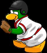Red Baseball Penguin 1
