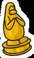 Gold Play Award Pin