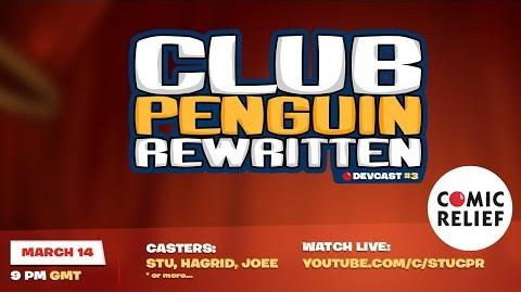 Club Penguin Rewritten Comic Relief Charity Live-Stream