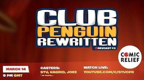Club Penguin Rewritten Comic Relief Charity Live-Stream