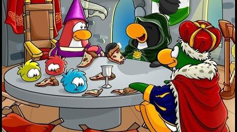 Club Penguin Rewritten Medieval Party NOW ON!