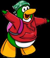 Green Paisley Bandana Penguin