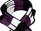 Purple Rugby Scarf