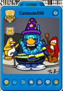 Catdude556 Player Card - Early February 2020 - Club Penguin Rewritten