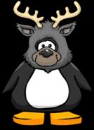 Icy Reindeer Head PC
