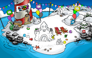 Puffle Party 2017 Beach