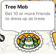 Tree Mob stamp SB