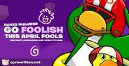 April Fools' Party 2019 Splash art