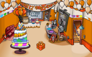 Club Penguin 12th Anniversary Party Coffee Shop