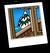 Tug Boat Background Icon
