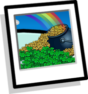Leprechaun Background clothing icon ID 9017
