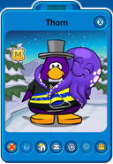 Thorn Player Card - Mid October 2018 - Club Penguin Rewritten (2)