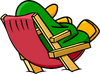 Beach Chair Penguin