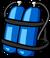 Blue Scuba Tank