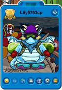 Lily8763cp Player Card - Mid August 2018 - Club Penguin Rewritten