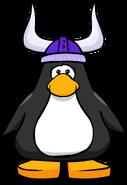 Purple Viking Helmet PC