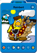 Rainbert Player Card - Late March 2019 - Club Penguin Rewritten (4)
