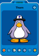 Thorn Player Card - Early May 2019 - Club Penguin Rewritten