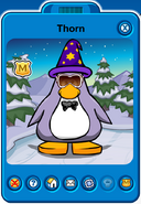 Thorn Player Card - Mid August 2018 - Club Penguin Rewritten (2)