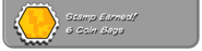 6 coin bags earned