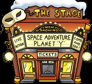 Space Adventure Planet Y - Exterior