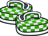 Green Checkered Shoes