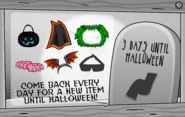 Halloween Party Interface Day 5