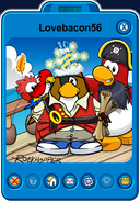 Lovebacon56 Player Card - Late March 2020 - Club Penguin Rewritten (2)