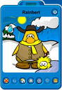 Rainbert Player Card - Late March 2019 - Club Penguin Rewritten (5)