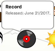 Record Pin SB