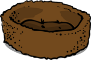 Brown Bed sprite 001