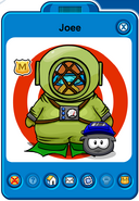 Joee Player Card - Late January 2019 - Club Penguin Rewritten (2)