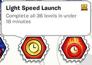 Light Speed Launch SB