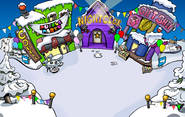 Puffle Party 2017 Town