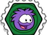 Star Puffle Stamp