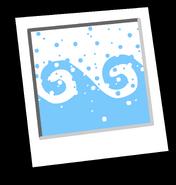 Fresco Waves Background Icon