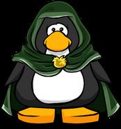 Green Hooded Cloak PC