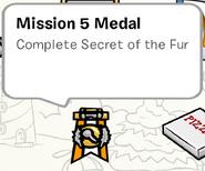 Mission 5 Medal SB