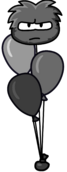 Black Puffle Balloon