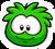Green Puffle Pin