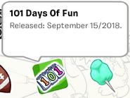 101 Days of Fun Pin SB